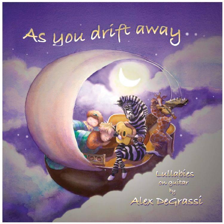 AS YOU DRIFT AWAY BY GRASSI,ALEX DE (CD)