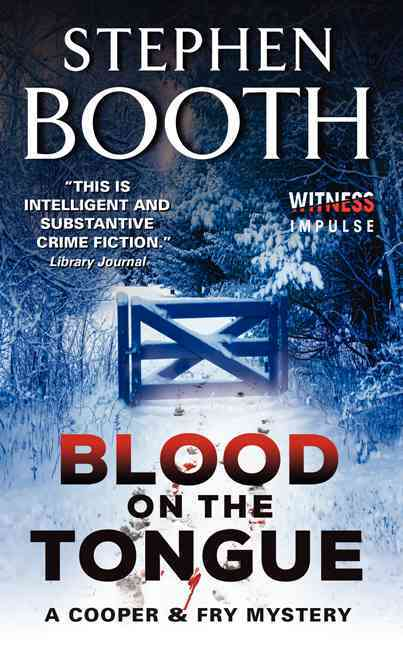 Blood on the Tongue By Booth, Stephen